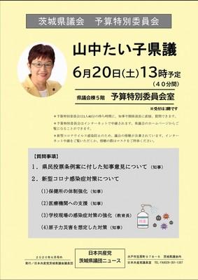 県議団ニュース2020年6月号外